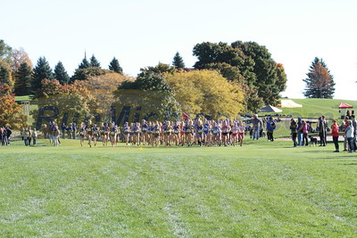 Women's Start & Loop 1 - 2016 GLIAC XC Championship