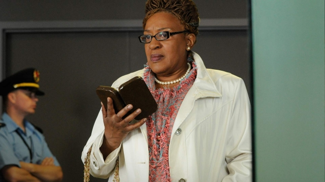 ". ""Warehouse 13\"" Mrs. Frederic (CCH Pounder) SyFy"