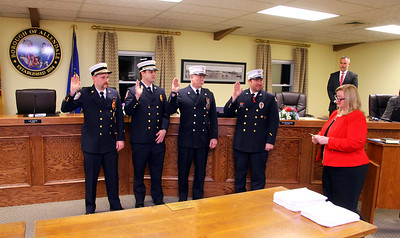 Allendale 2017 Fire Officers