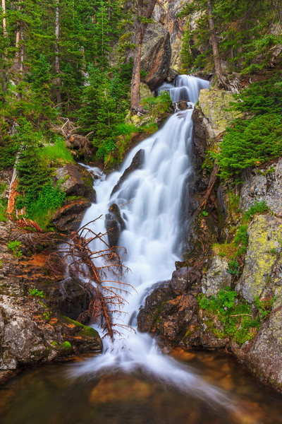 Unnamed Falls, Mummy Range