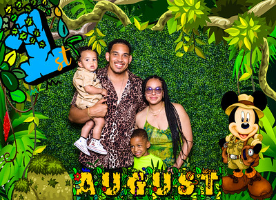 August 1st Safari Bday