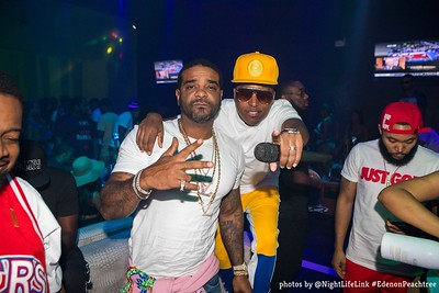 Eden on Peachtree at E11even45 w/ Jim Jones & Chubbie Baby 8/05/18