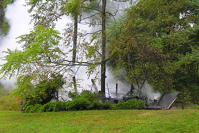 08-28-08 Coshocton FD Shed Fire