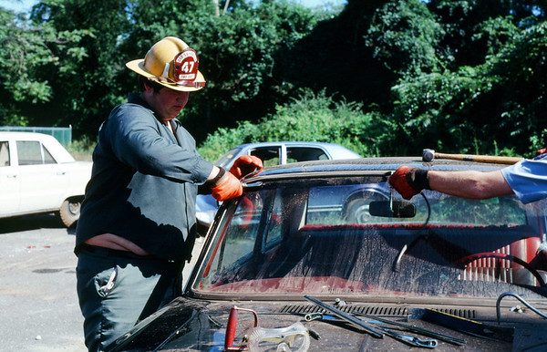 Early Extrication Demo and Drill 1978 or 1979