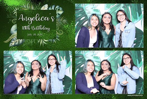 Angelica's 18th Birthday