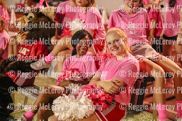 Bearcat Belles and Cheerleaders 10-12-18