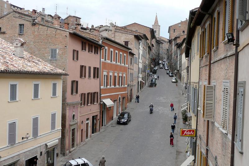 Via Mazzini. Urbino, Marche
