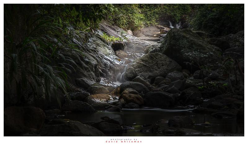 Sunbeams on Korrumbyn Creek
