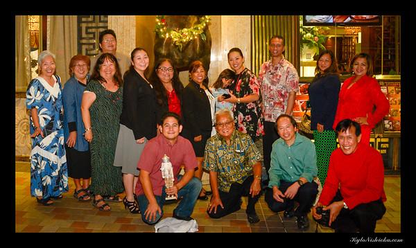 Kamehameha Toastmasters - Holiday Dinner 2017