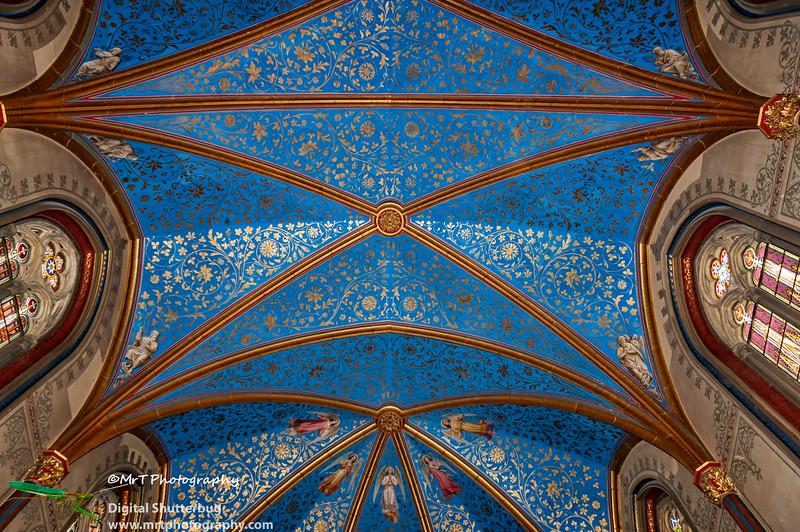 Aposteltor der Kaiser Wilhem Gedächtniskirche Burg Hohenzollern Germany
