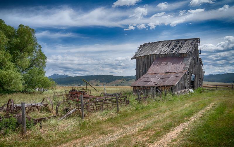 Abandoned in Roseberry, Idaho
