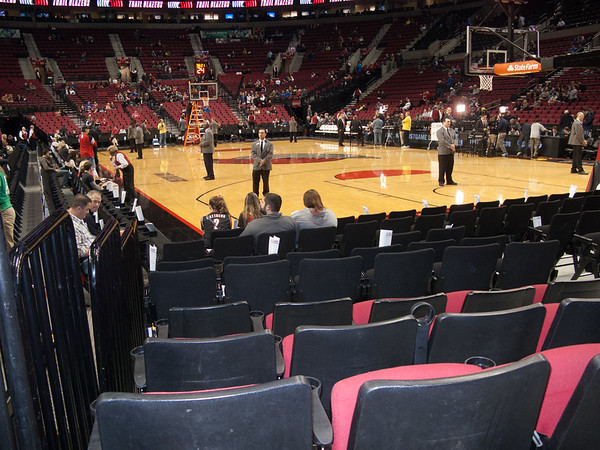 Forest and Bruce @ The Blazer Game