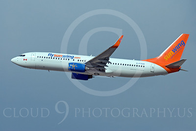 Sun Wing Airline Boeing 737 Airliner Pictures