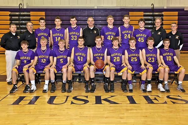 Boys BB Team Picture, Feb. 2014