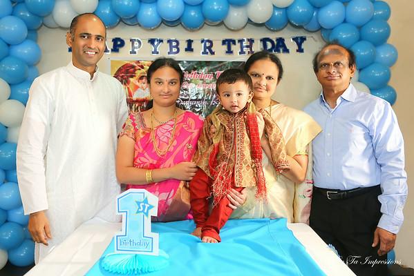 Suharsh 1st Birthday Celebration