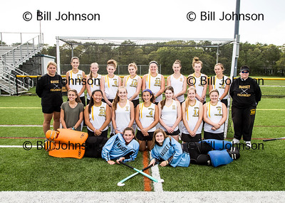 Nauset JV Field Hockey Team and Roster 2016_2017