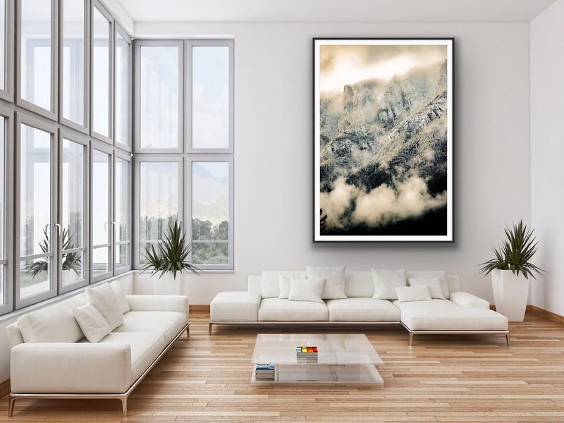 'Bootleg Mountain' Fine Art Print, Framed/Unframed