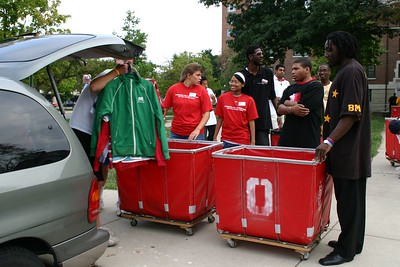Welcome Week 2005 OWL Move-In