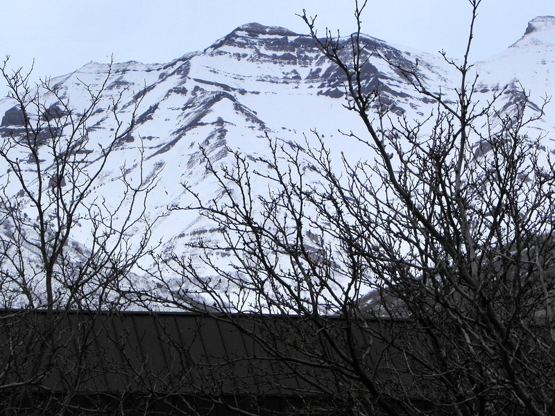 2012-0204 ––– We are struggling to have a normal winter this year. We are about 65% or normal snow so far and you can tell by just looking up at the mountains. Normally you wouldn't be able to see any bare spots on Timpanogos. What has fallen has ben blown off or melted, leaving the mountains looking really bare. On a side note. The summit shack on Timp is visible in this shot. the highest peak is just shy of 12,000 feet and isn't the one that is in the center. That peak is much closer so it creates an optical illusion that it is the highest peak, but the highest is the peak to the far left. If you look closely you'll see the summit shack. View the image larger and it will be easy to spot.