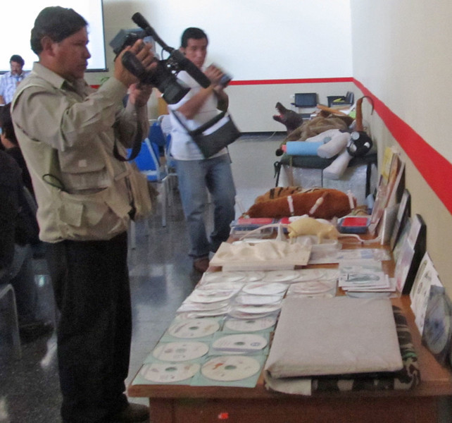 Once again the media were quite interested, covering our conference several times in the Tacna media outlets.