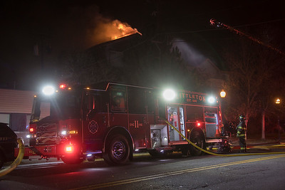 5891 S. Nevada Apartment Fire