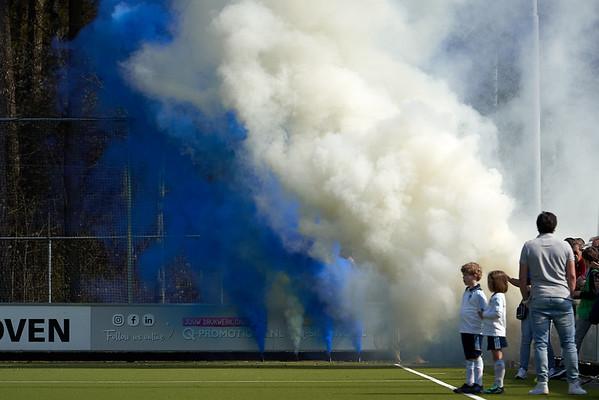 2019-04-07: HC Tilburg H1 - Bloemendaal H1