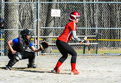 HS softball scrimmage: North Middlesex @ Lunenburg
