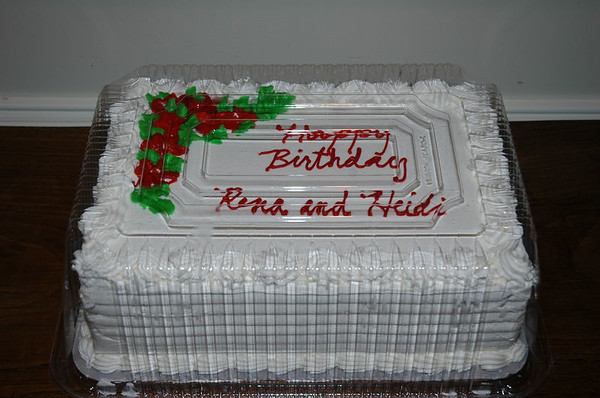 Surprise Party for Rena and Heidi