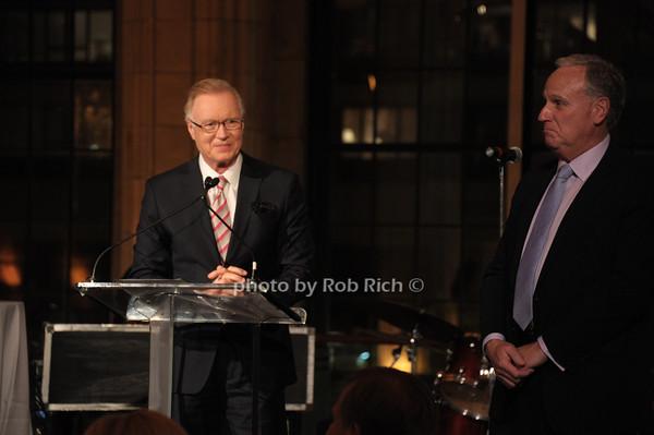 Chuck Scarborough, Keith Fell   photo  by Rob Rich © 2014 robwayne1@aol.com 516-676-3939