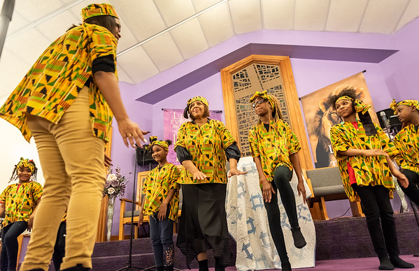 Celebrating Black History Month at Second Baptist Church