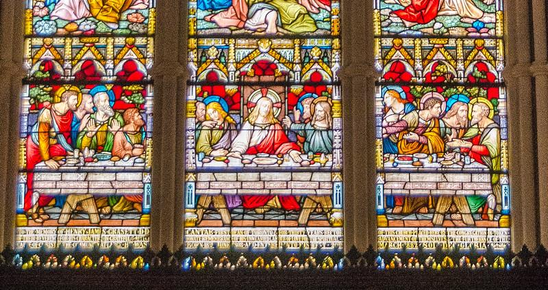 Chancel window - The Last Supper