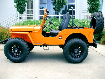 WILLYS  CJ2A  CRUSH