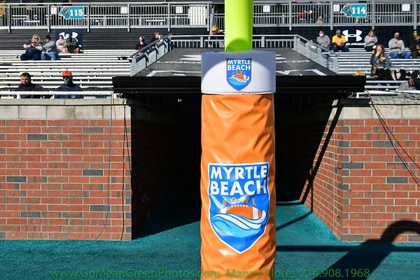 Myrtle Beach Bowl:  First Half