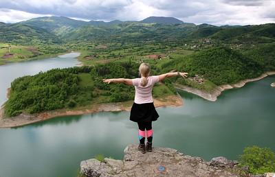 Srbija - Klinci, Jezero Rovni (Velika stena), Pakljanska prerast, brdo Vidrak, 16.5.2021.