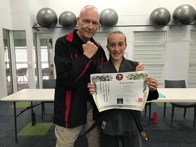 Combat Self Defence Black Belt Gradings December 2017
