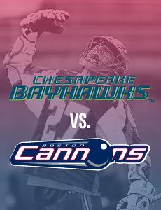 Bayhawks @ Cannons (6/23/16)