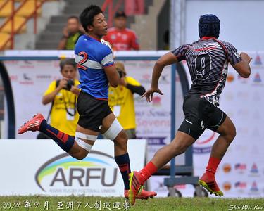 2014亞巡賽七人制馬來西亞站預賽-台灣 VS 新加坡(TWN vs SGP)