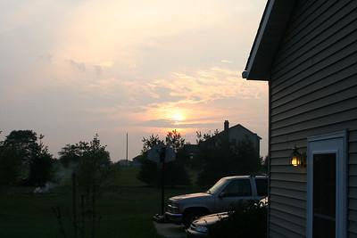 Sunset 20050827