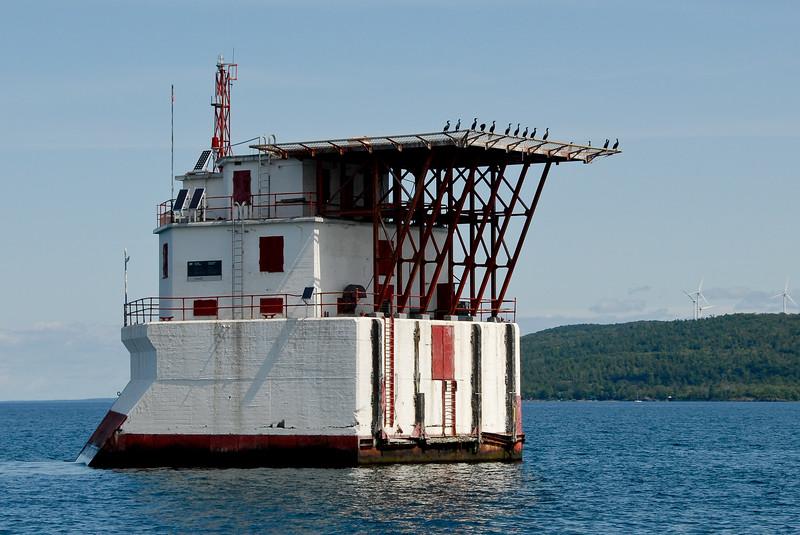 Gros Cap Reef Lighthouse, Lake Superior