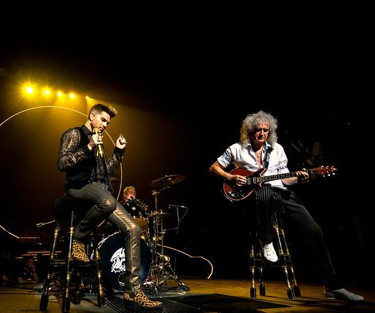 Queen + Adam Lambert, Philadelphia, 7/16/14