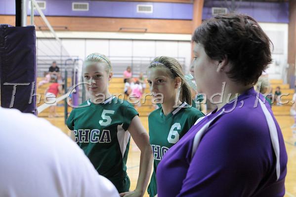 CHCA 201 8th Grade Volleyball vs Madiera 08.30