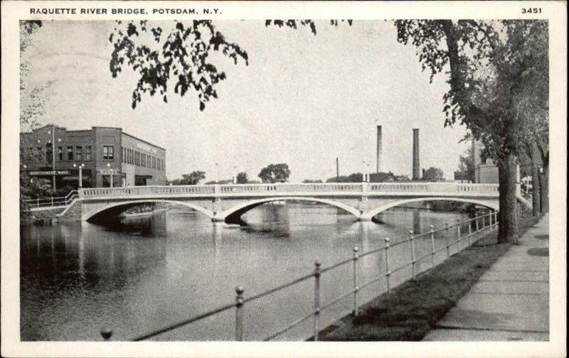 RAQUETTE RIVER BRIDGE POSTDAM