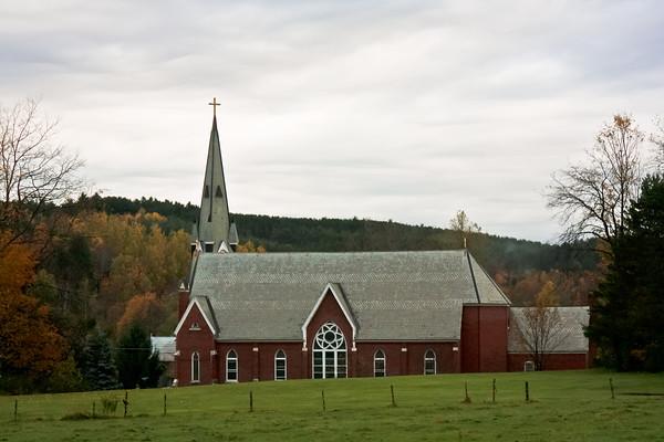 St. Thomas Church in Underhill, VT