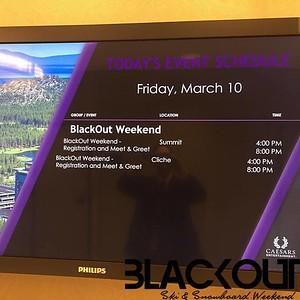BlackOut Weekend 2017