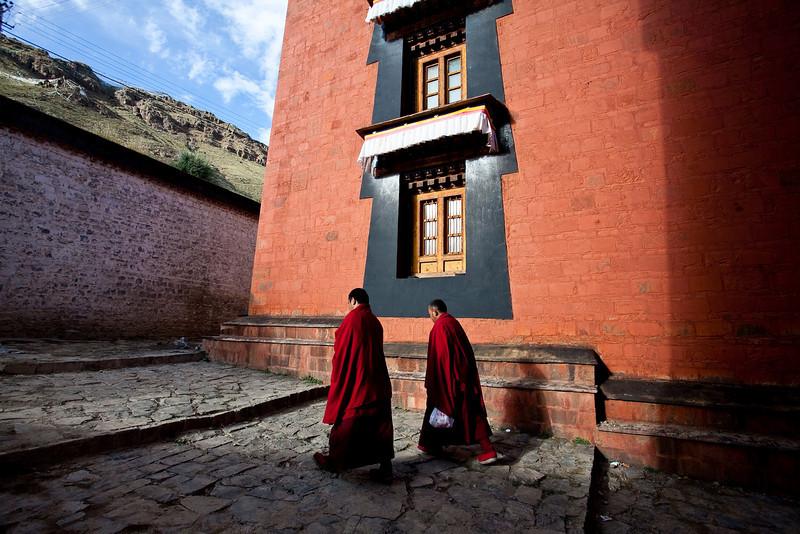 日喀则扎布伦寺, Tibet