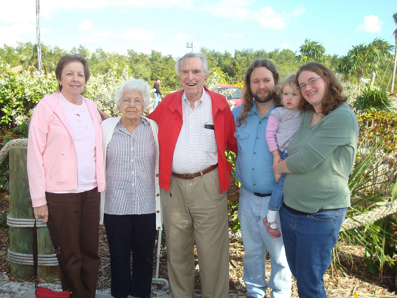 June, Betty, Popi, Eric, Beverly, and Deb