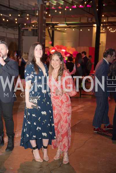 Hayley Mckey, Courtney Sexton, The Phillips Collection, Annual Gala Afterparty, Contemporaries Bash, Union Market Dock 5. May 10, 2019, Photo by Ben Droz.