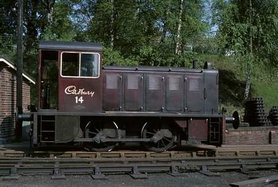 Cadbury's last day of rail traffic, 1976