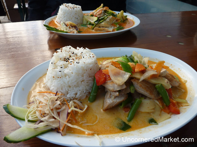 Tuna & Tofu Thai Curries for Lunch - Berlin