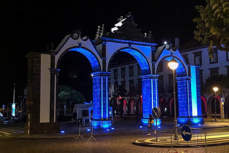 City Gates in Ponta Delgada